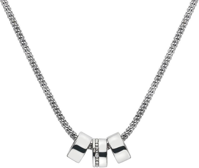 Hot Diamonds Stříbrný náhrdelník Trio DP551