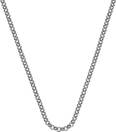 Hot Diamonds Stříbrný řetízek Emozioni Rhod Plated Belcher 45 CH025