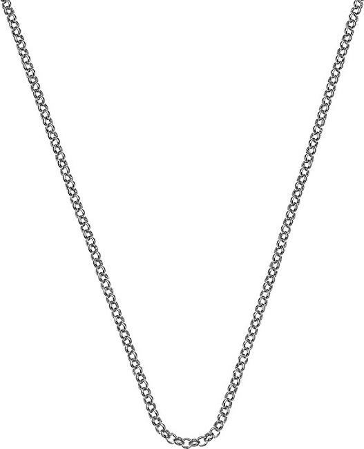 Hot Diamonds Stříbrný řetízek Emozioni Rhod Plated Belcher 76 CH026