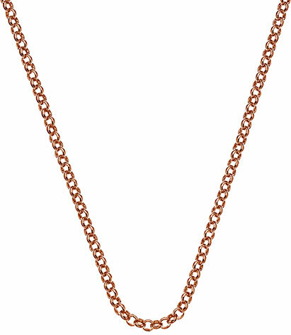 Hot Diamonds Lănțișor de argint Emozioni Rose Gold Belcher 45 CH013
