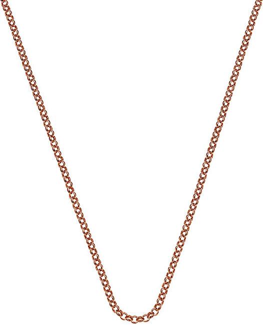 Hot Diamonds Stříbrný řetízek Emozioni Rose Gold Belcher 30 CH014