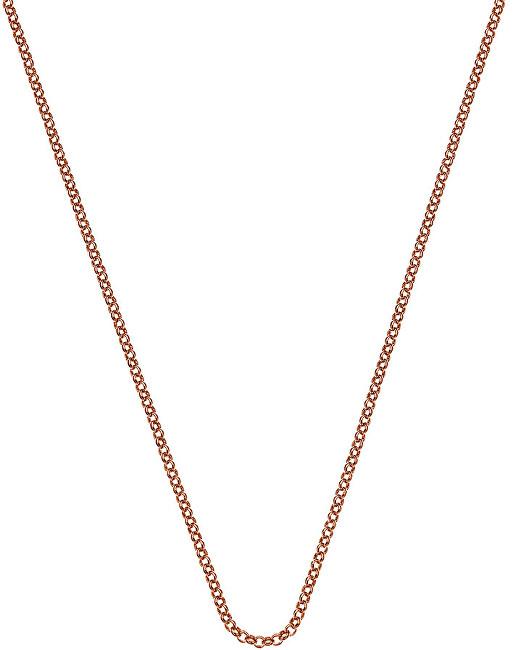 Hot Diamonds Stříbrný řetízek Emozioni Rose Gold Belcher 89 CH015