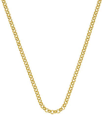 Hot Diamonds Lănțișor de argint Emozioni Yellow Gold Belcher Chain18 CH010
