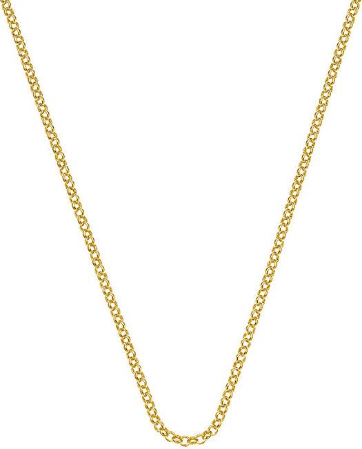 Hot Diamonds Stříbrný řetízek Emozioni Yellow Gold Belcher Chain 30 CH011