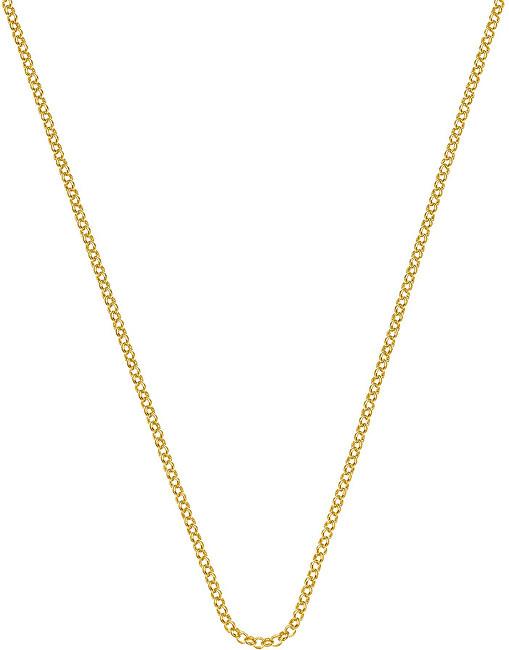 Hot Diamonds Stříbrný řetízek Emozioni Yellow Gold Belcher Chain 35 CH012