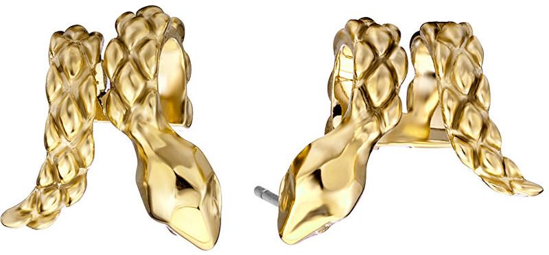 Just Cavalli Luxusní hadí náušnice Just Chic JCER00020200