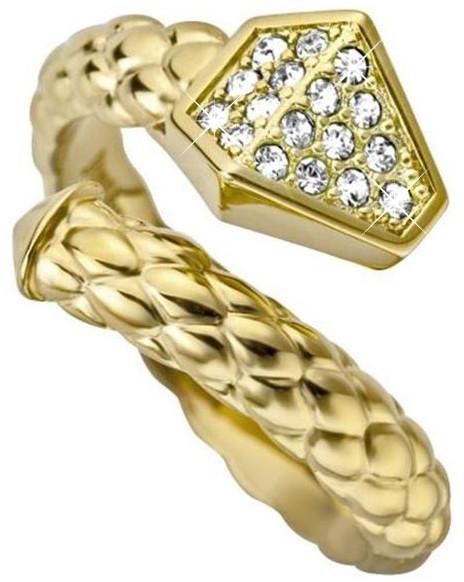 Just Cavalli Inel șarpe de lux Doar Glam JCRG000102 56 mm