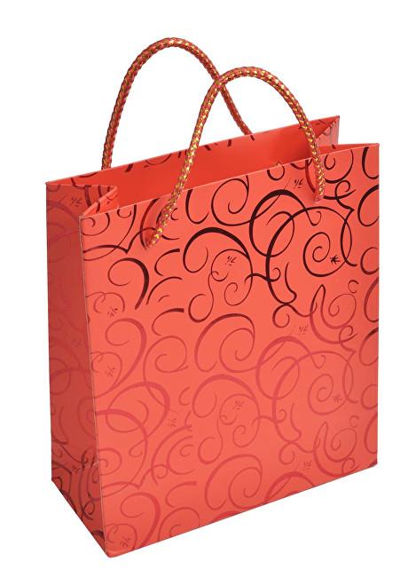 JK Box Červená dárková taška MV-5/A7
