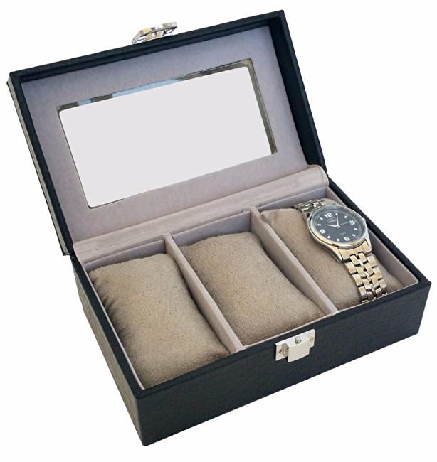 JK Box Kazeta na tři hodinky SP-935/A25