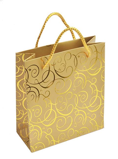 JK Box Zlatá dárková taška MV-5/AU