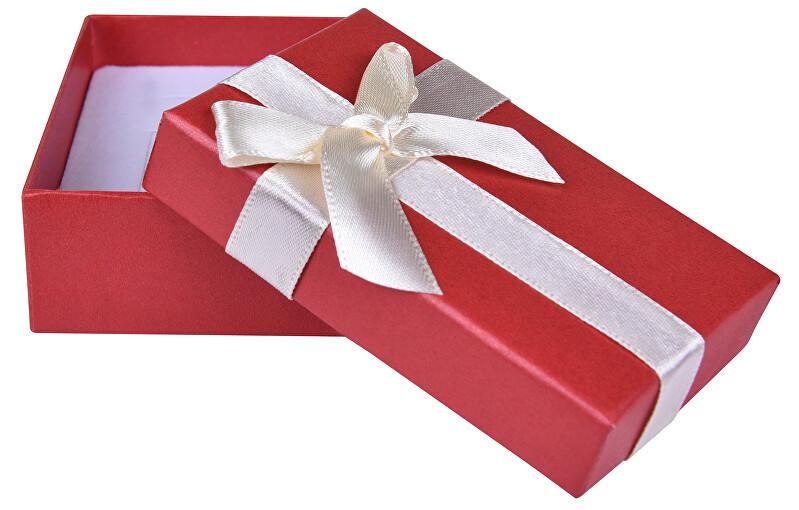 JK Box Červená krabička na soupravu šperků AP-6/A10