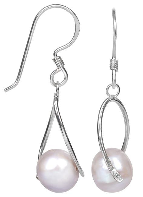 JwL Luxury Pearls Stříbrné náušnice s pravou perlou JL0110