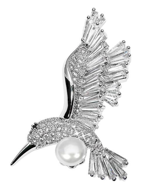 JwL Luxury Pearls Frumos Hummingbird broșă cu JL0515 cu perla autentică