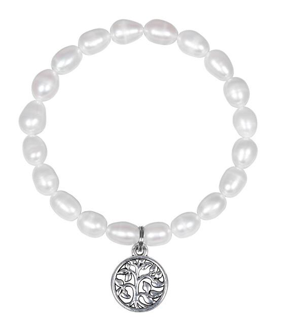 JwL Luxury Pearls Perlový náramok Strom života JL0549