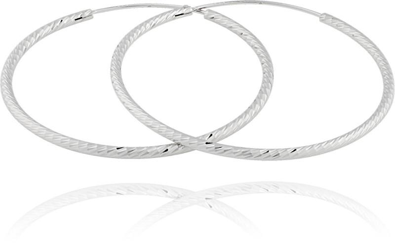 JVD Stříbrné náušnice kruhy SVLE0215XD500 1,6 cm