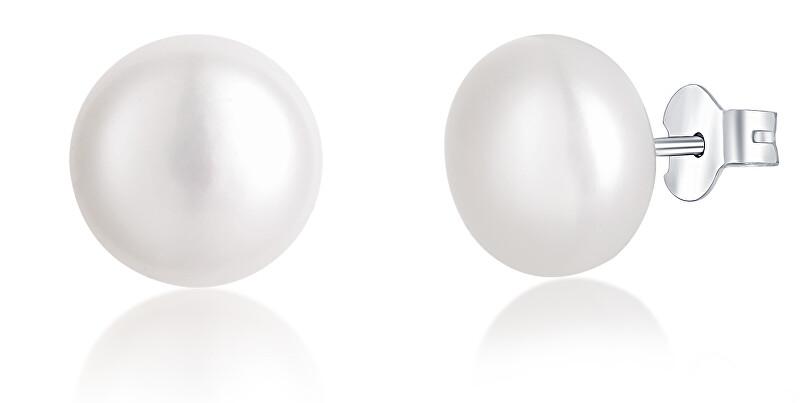 JVD Stříbrné náušnice s perlami SVLE0545XD2P1 0,7