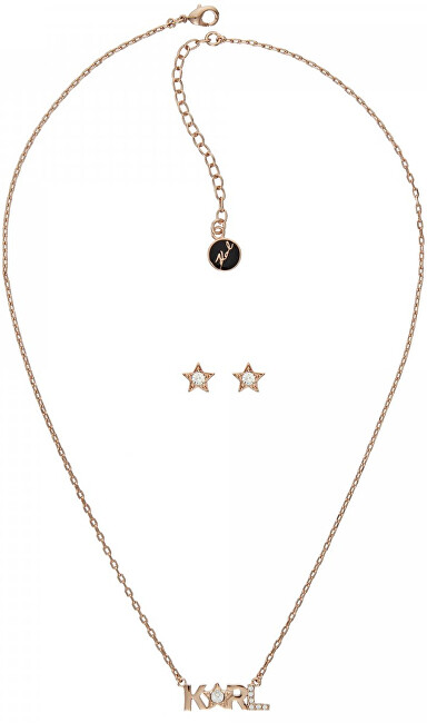 Karl Lagerfeld Luxusní sada Karl Star 5512309