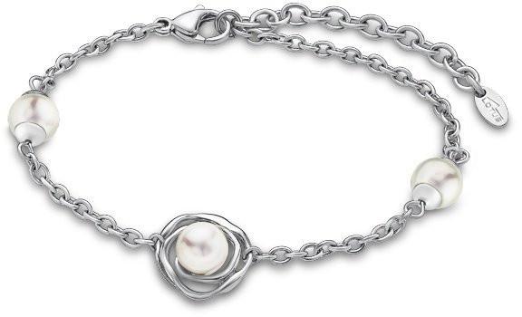 Lotus Style Romantický náramek s perličkami LS1855-2/1