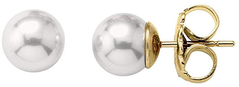 Majorica Stříbrné náušnice s perlami 00323.01.1.000.701.1