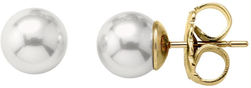 Majorica Stříbrné náušnice s perlami 00324.01.1.000.701.1