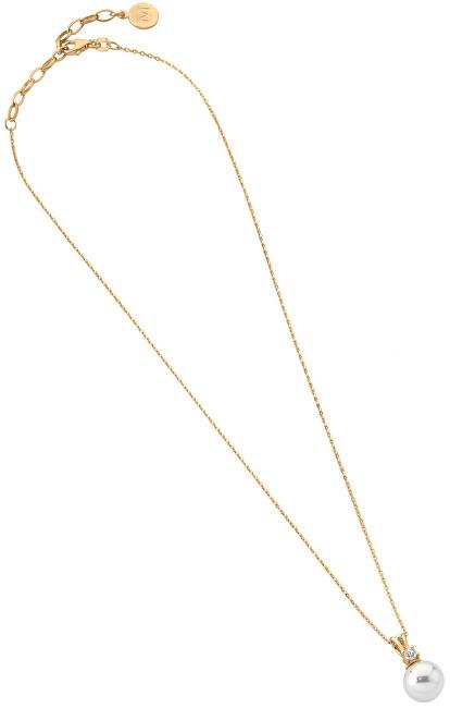 Majorica Colier din argint cu perle și stras 14221.01.1.000.010.1 (lanț, pandantiv)