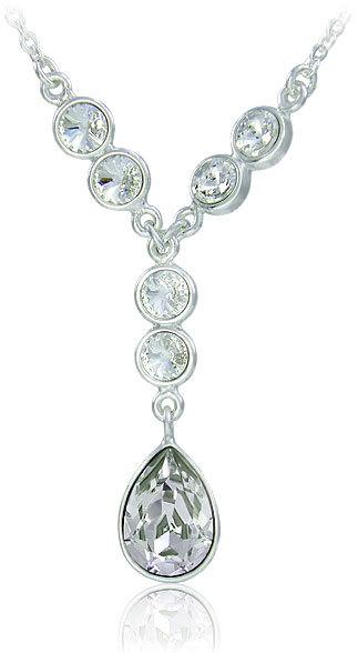 MHM Náhrdelník Anie 31116  Crystal