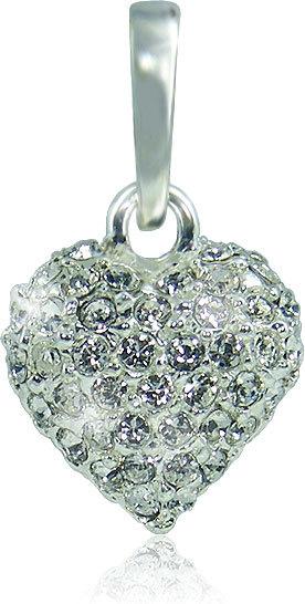 MHM Náhrdelník Srdce M4 Crystal 3151
