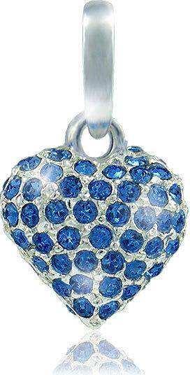 MHM Náhrdelník Srdce M4 Sapphire 3148