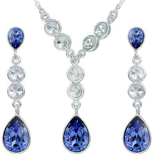 Souprava šperků Anie Tanzanite 34100 MHM sMH0090