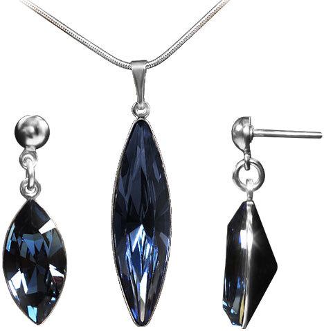 MHM Súprava šperkov Fiona Denim Blue 34202