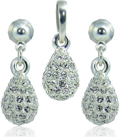 MHM Súprava šperkov Kvapka M4 Crystal 3401