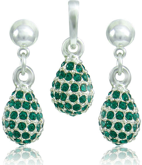 MHM Súprava šperkov Kvapka M4 Emerald 3485
