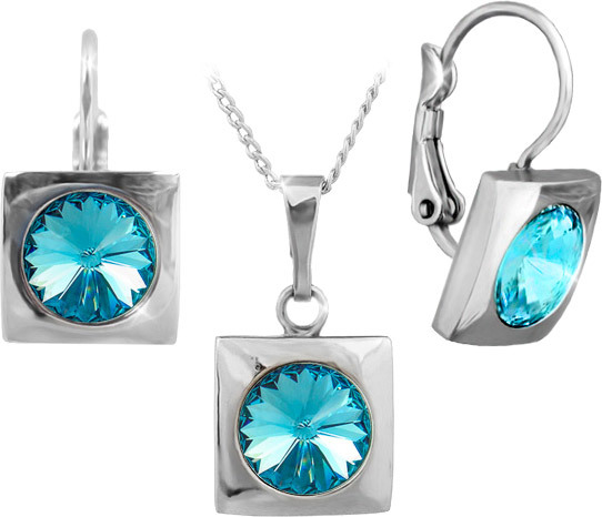 MHM Súprava šperkov Dafné Aquamarine 34232