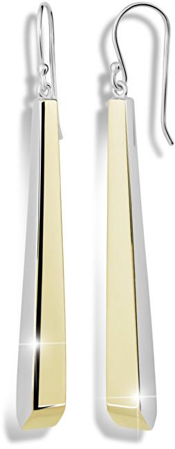 Modesi Pozlacené stříbrné náušnice M26016