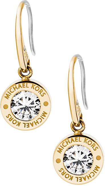 Michael Kors Pozlacené náušnice s krystalem MKJ5337710
