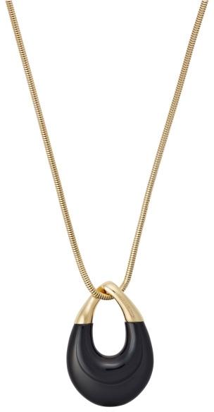 Michael Kors Pozlacený náhrdelník s přívěskem MKJ5776710