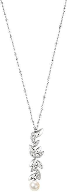 Morellato Ocelový náhrdelník s perlou Gioia SAER19