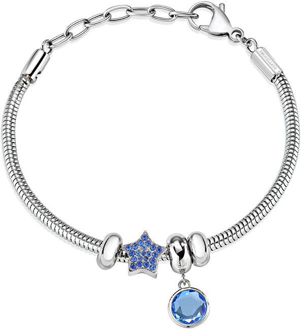 Morellato Náramok s modrými prívesky Drops SCZ935