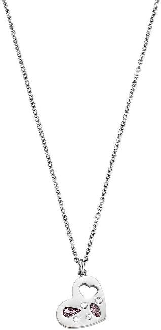 Morellato Ocelový náhrdelník se srdíčkem Allegra SAKR02