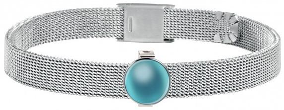 Morellato Oceľový náramok so svetlo modrým príveskom SENSAZIONE SAJT60