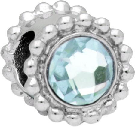 Morellato Ocelový přívěsek Drops Crystal Aquamarine SCZ771