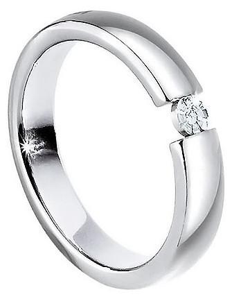 Morellato Ocelový prsten s diamantem Love Rings S8532 61 mm