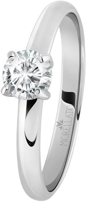 Morellato Ocelový prsten s krystalem Love Rings SNA42 52 mm