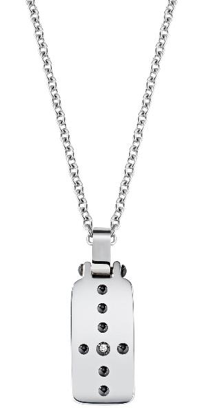Morellato Pánský ocelový náhrdelník Cross SKR31