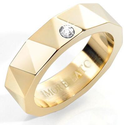 Morellato Pozlacený dámský prsten CULT SSI03