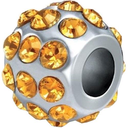 Morellato -  Ocelový přívěsek Drops Crystals Yellow SCZ41