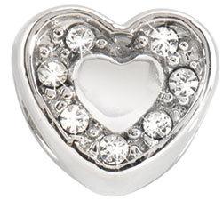 Přívěsek Morellato Heart Crystals CZ126