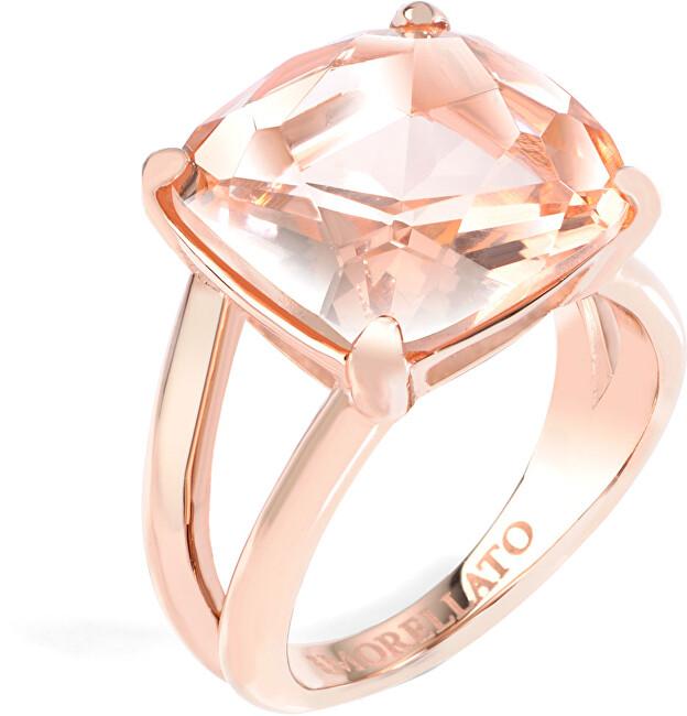 Morellato Pozlacený ocelový prsten Fioremio SABK01 56 mm