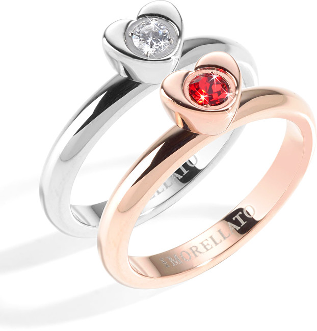 Morellato -  Ocelový bicolor prsten Love Rings SNA32 54 mm