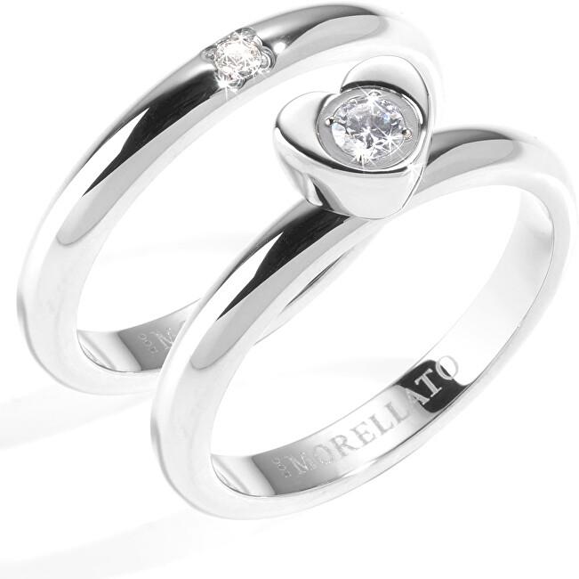 Morellato Ocelový prsten Love Rings SNA35 54 mm